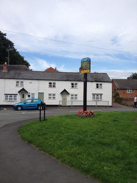 Newbold Verdon village sign