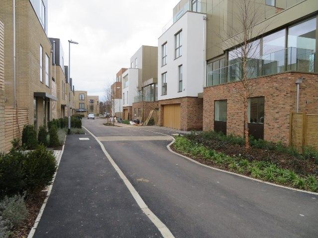 View along Whitelocks Drive