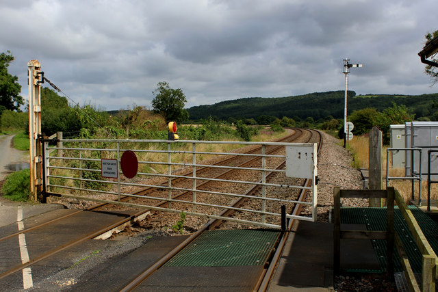 The Level Crossing at Howsham Gates