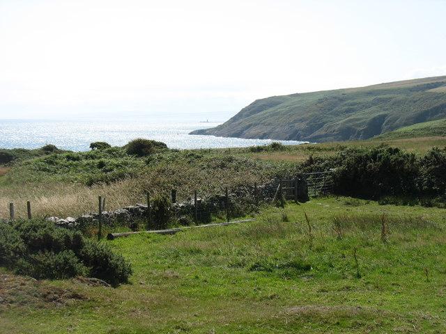 Anglesey coast south of Point Lynas (Trwyn Eilian)