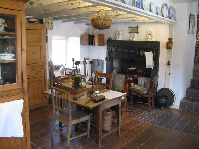 The Cottar's house at the Fife Folk Museum