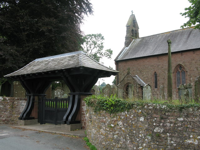 Church of St Mary and Lychgate, Gosforth