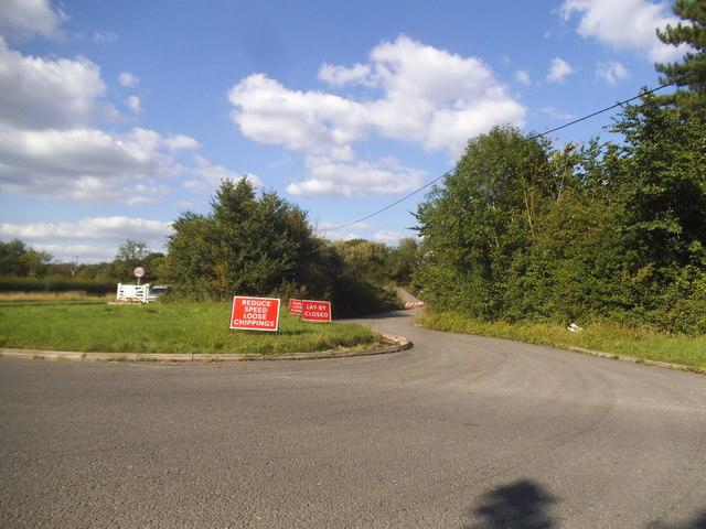Summerleys Road near Princes Risborough