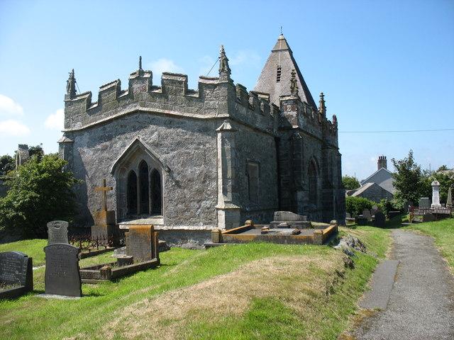 St Eilian's church, Llaneilian
