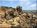 SH4490 : Near the summit of Parys Mountain by David Purchase