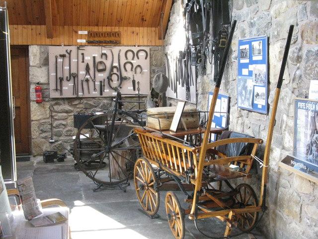 Ceres - inside the Folk Museum Annex