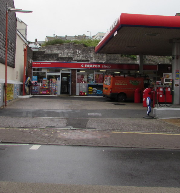 Ilfracombe Service Station shop, High Street, Ilfracombe