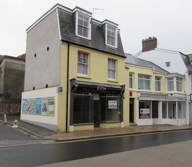 Former EX34 High Street Cosmetics Store, Ilfracombe
