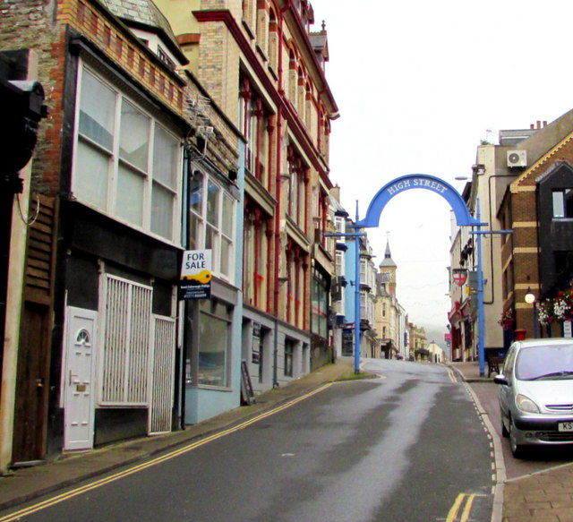 Fore Street towards High Street, Ilfracombe