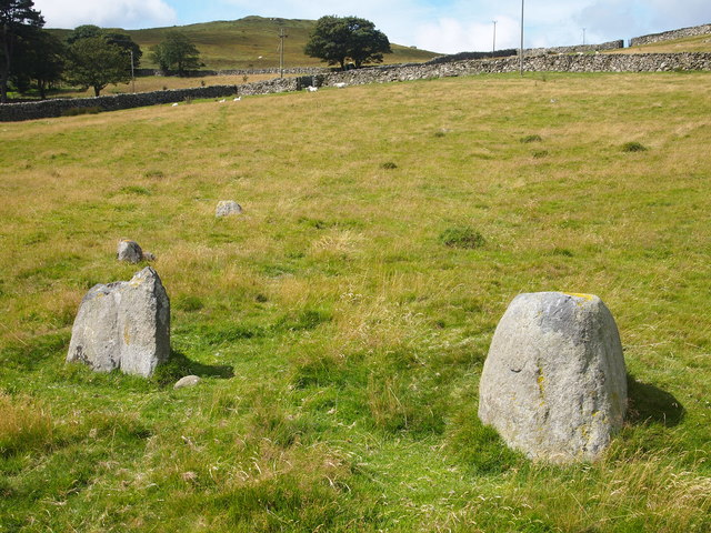 Stone Circle, Bryn Derwydd