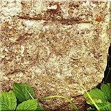 TM1469 : Cut Mark Thorndon Debenham Road Stone by Cud05