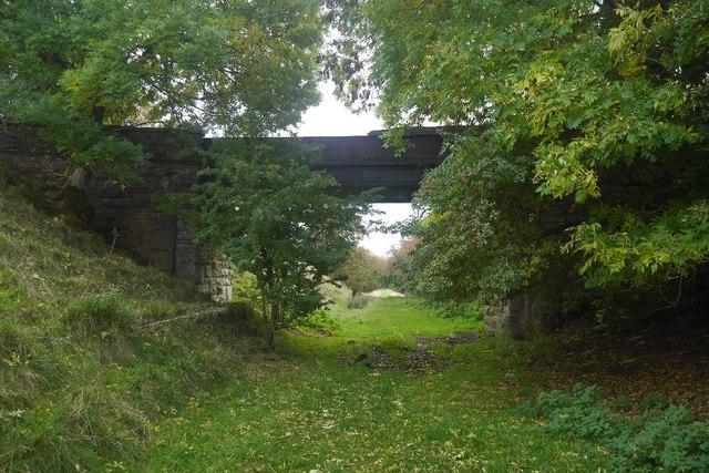 Bridge over the Wensleydale railway