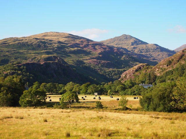 The Glaslyn Valley South Of Beddgelert