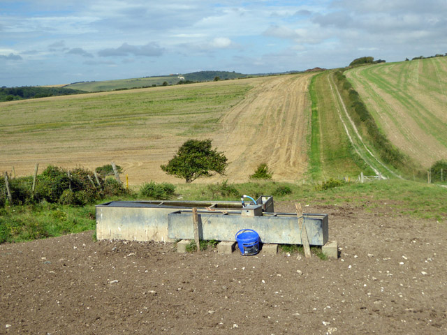 South Downs cattle troughs