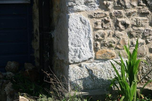 Benchmark #22 Wootton Lane, Wootton Fitzpaine