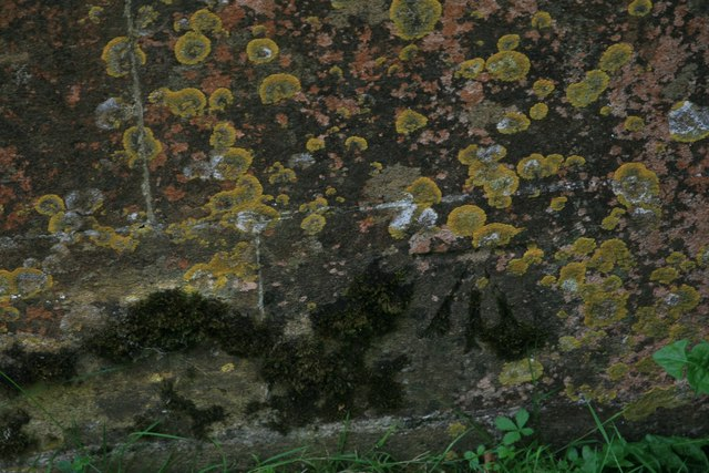 Benchmark on St Mary's Church, Marshwood