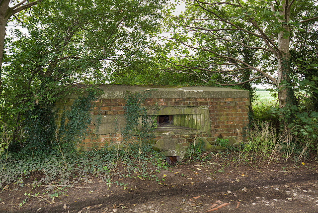 WWII Cheshire, RAF Cranage, near Middlewich - pillbox (6)