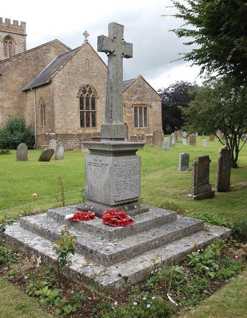 Haselbury Plucknett war memorial