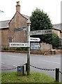 ST4710 : Fingerpost sign, Haselbury Plucknett by Bill Harrison