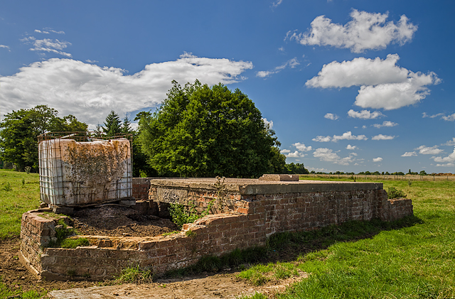 WWII Cheshire, RAF Cranage, near Middlewich - LAA Emplacement (22)