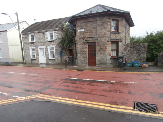 Dwellings in the Grawen, Brecon Rd, Merthyr Tydfil