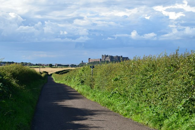 Bamburgh and castle
