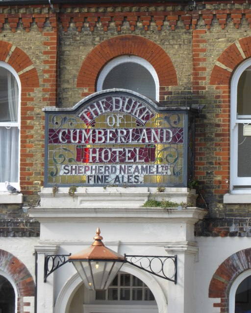 Pub signs: The Duke of Cumberland, Whitstable