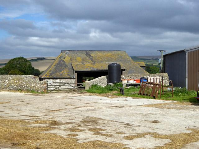 Old barn at Clapham Barn