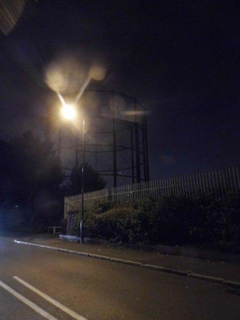 Gasholder on Brunel Road, Rotherhithe
