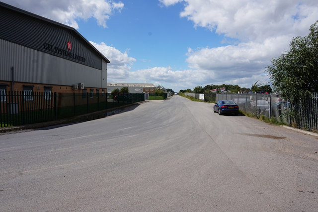 Industrial Estate at Riccall Common
