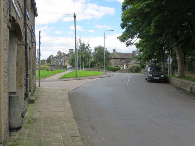 St Peters Avenue in Sowerby
