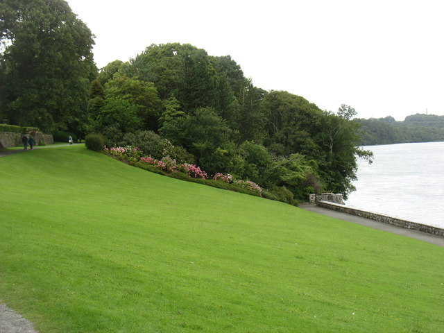 The grounds of Plas Newydd