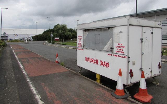 Brunch Bar in Ashchurch Industrial Estate