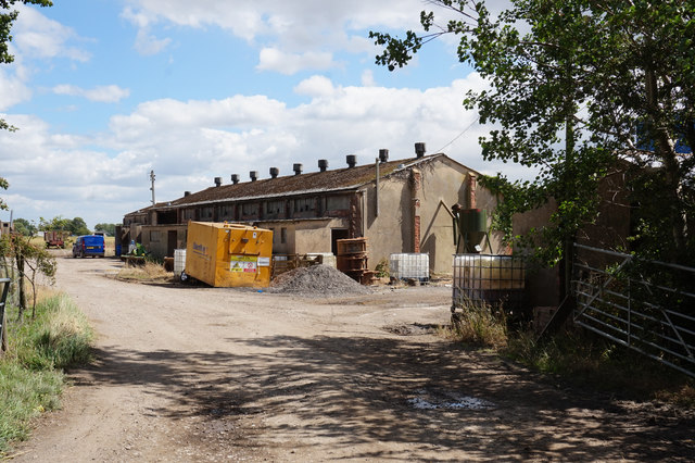 Farm buildings off Market Weighton Road