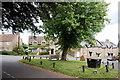 ST4710 : Haselbury Plucknett village green by Bill Harrison