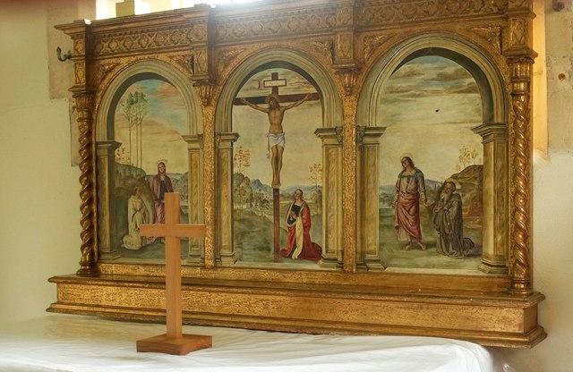 Altarpiece, Church of St Peter and St Paul, Charlton Adam
