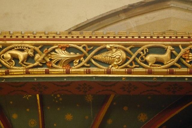 Rood screen, St Andrews, Aysgarth