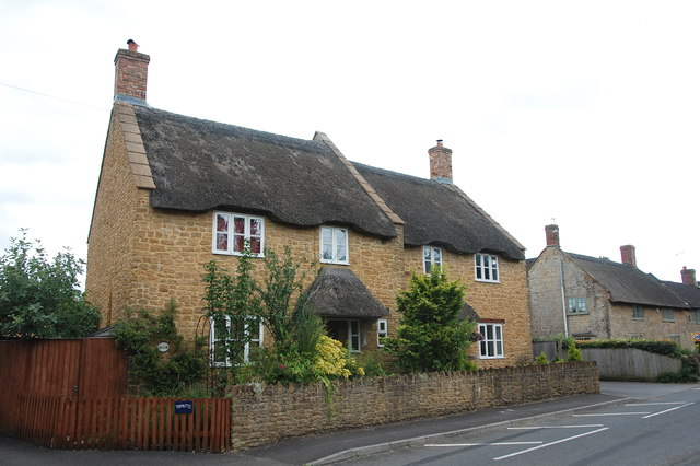 Thatched cottages, Haselbury Plucknett