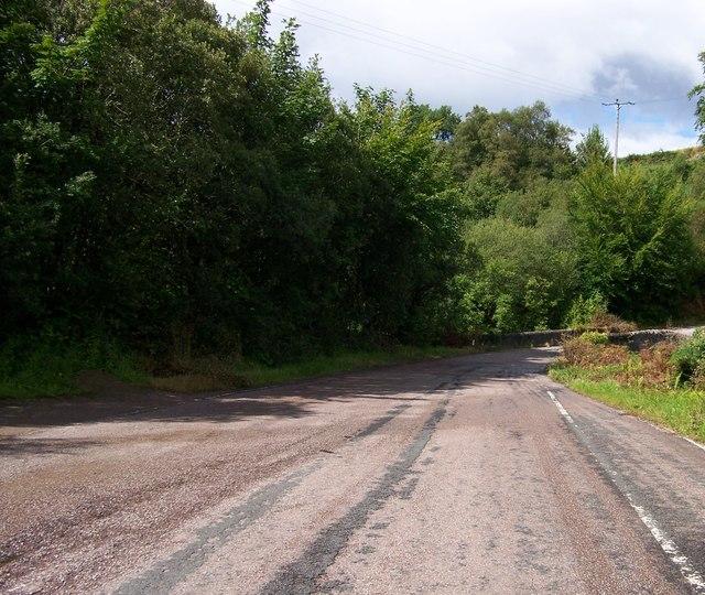 B842 approaching Ugadale
