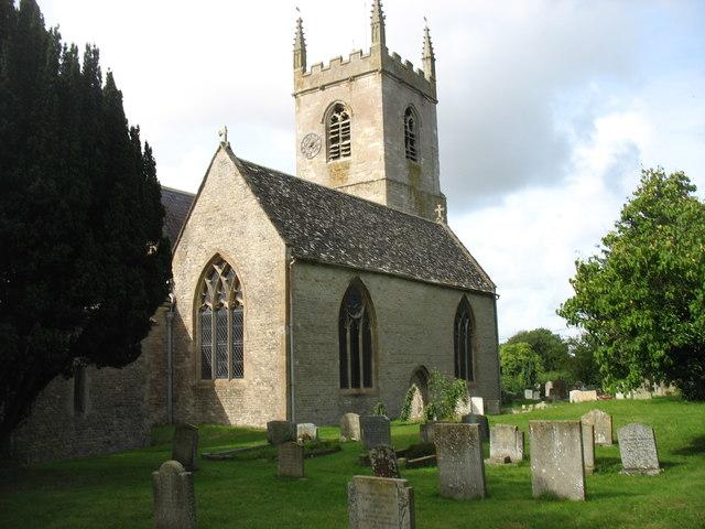 St Nicholas church, Islip