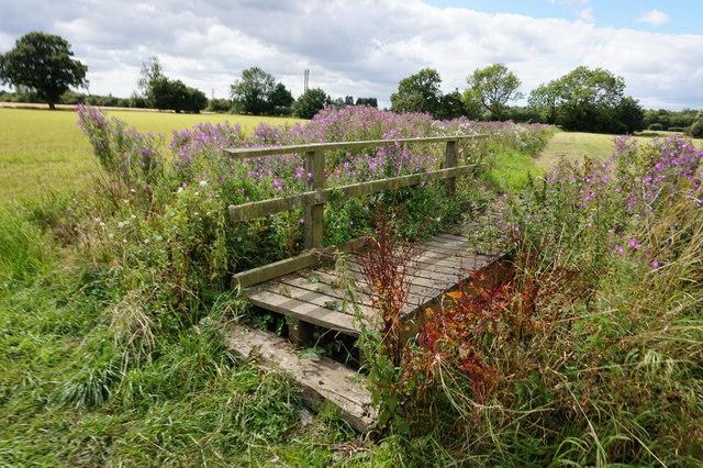 Footbridge near the A19, Selby
