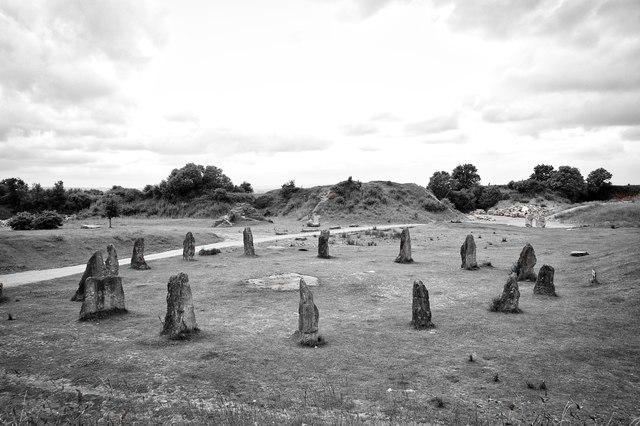 Millennium circle, Ham Hill