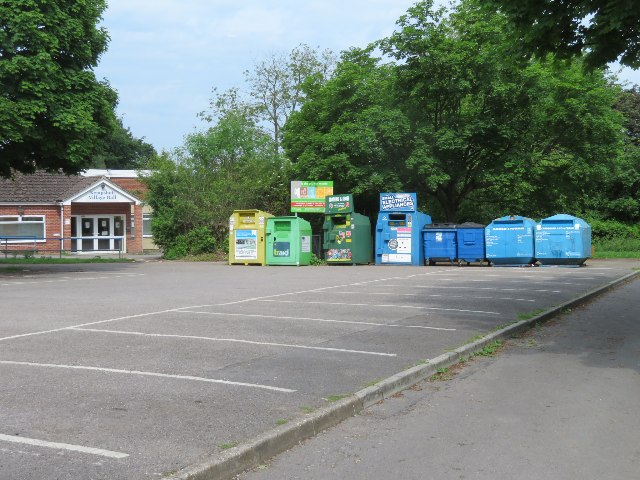 Recycling point - Stratton Park car park