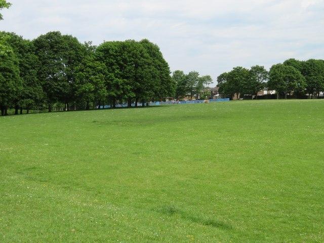 View across Stratton Park