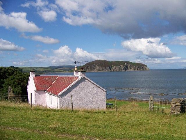 A house by the shore near Ballimenach