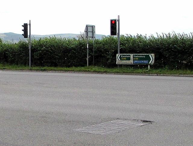 A46 directions, Ashchurch