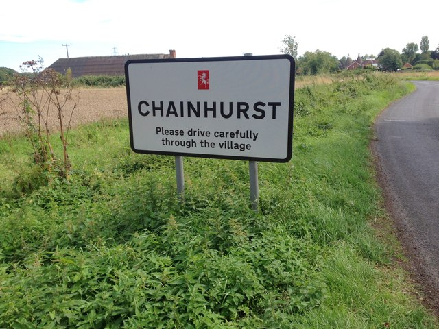 Chainhurst Village Sign