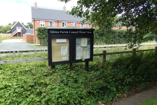 Sibton Parish Notice Board