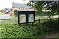 TM3669 : Sibton Parish Notice Board by Adrian Cable