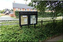 TM3669 : Sibton Parish Notice Board by Adrian Cable